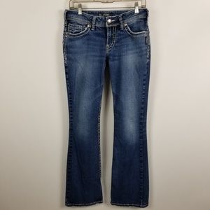 Silver Suki Boot Cut Womens Medium Wash 28x32